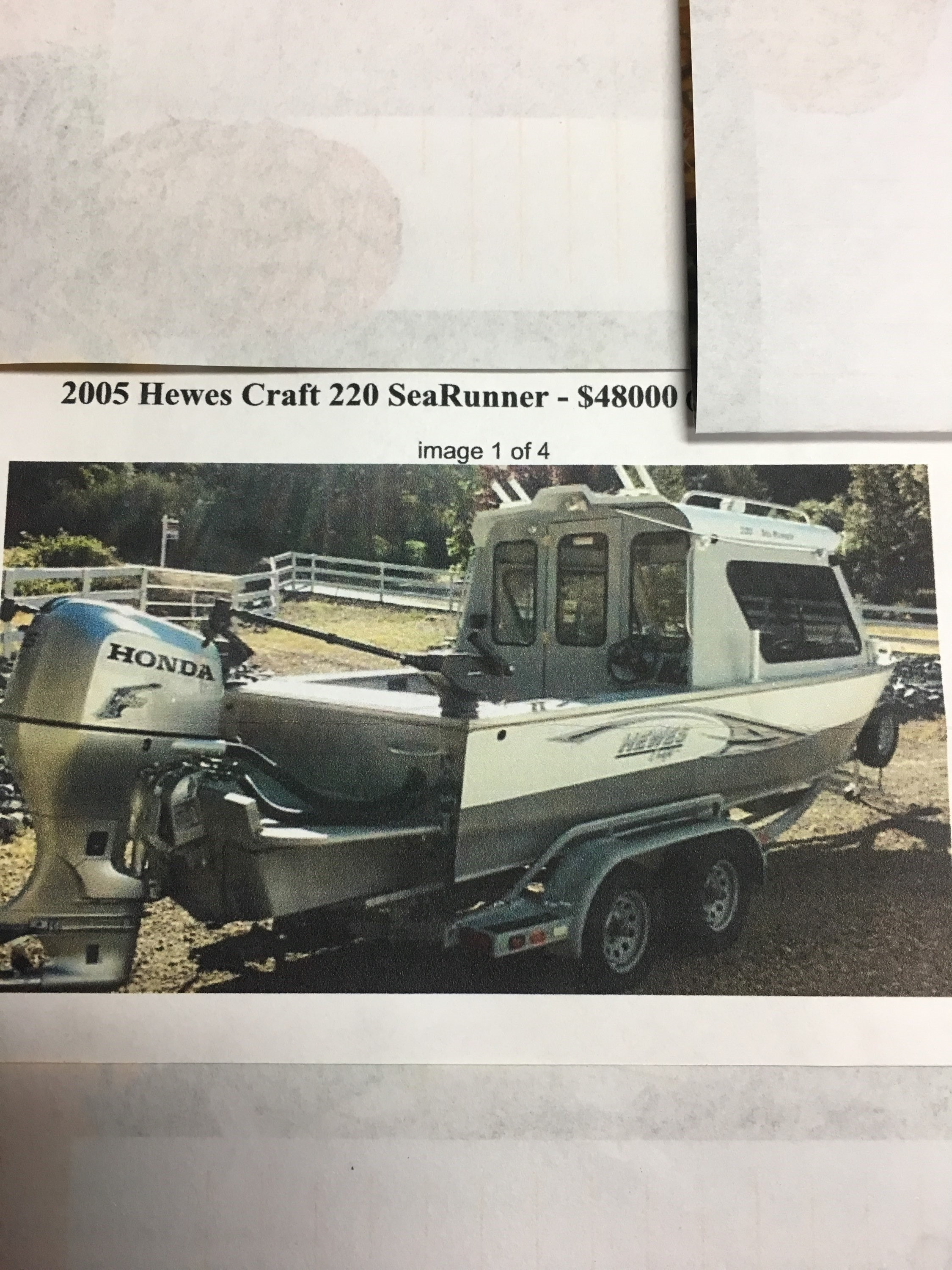 Hewescraft 220 Sea Runner