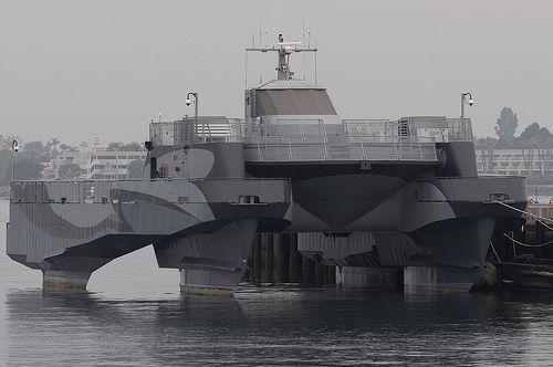Lockheed Martin Swathboat / Support Vessel