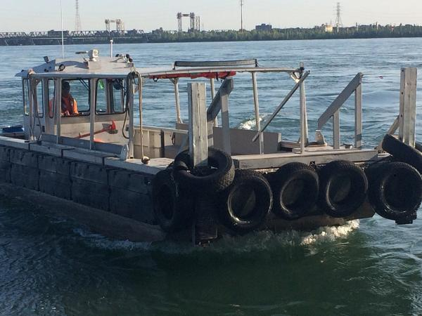 Kanter 33' Aluminum Crew/Work Boat
