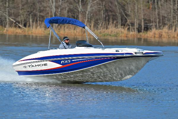 Used tahoe 195 boats for sale for Fishing deck boats