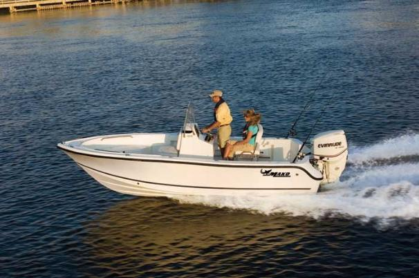 Its open layout permits 360-degree fishability coupled with a smooth. dry MAKO ride.