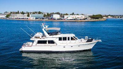 Offshore 58 Pilot House profile