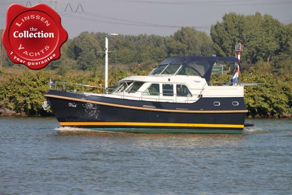 Linssen Grand Sturdy 380 AC Dutch Steel Cruiser
