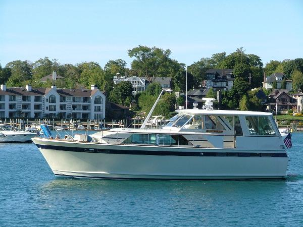 Chris-Craft 47 COMMANDER Profile