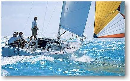 J Boats J/105 Manufacturer Provided Image: J/105 Under full sail