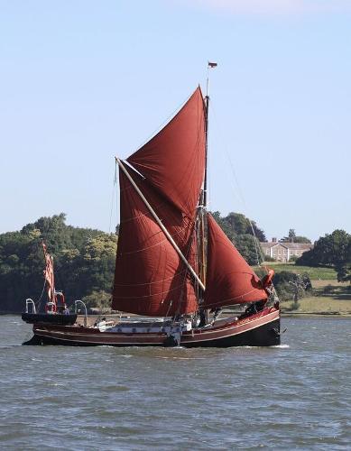 "Thames Barge Yacht Thames Barge Yacht ""Blackthorn"""