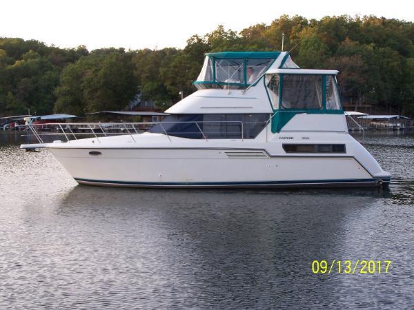 Carver 355 Aft Cabin Profile