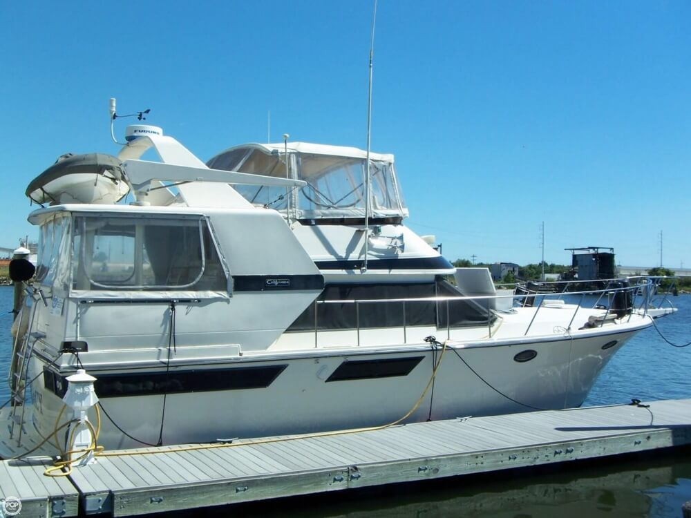 Californian 4207 Aft Cabin Motoryacht Flybridge 42 1987 Californian 4207 Aft Cabin Motoryacht Flybridge 42 for sale in New Orleans, LA