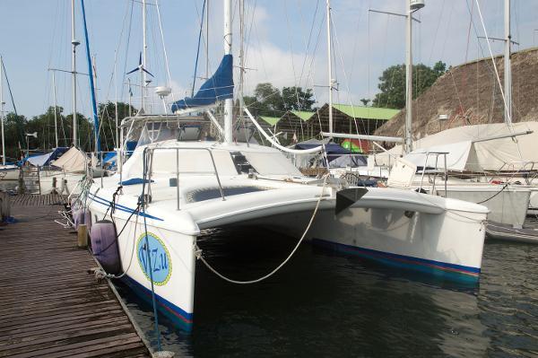 Manta 42 Sail Catamaran ViZu