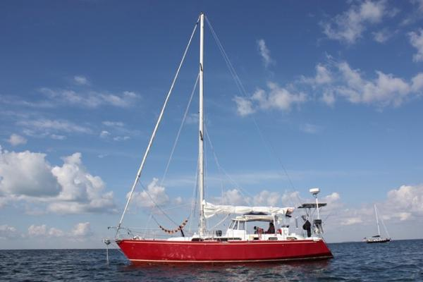 Bruce Roberts Custom Steel Sloop