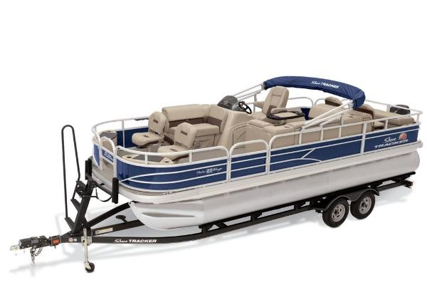 Sun Tracker Fishin' Barge 22 DLX