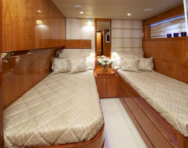 Starboard side Guest twin - same on Port side