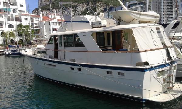 Hatteras 53 Classic Motor Yacht