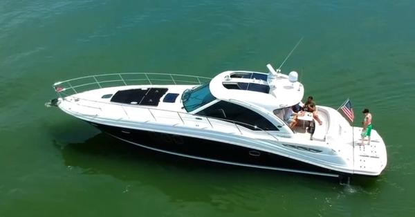 Sea Ray 500 Sundancer 2011 Sea Ray 500 Sundancer - Drone Photo