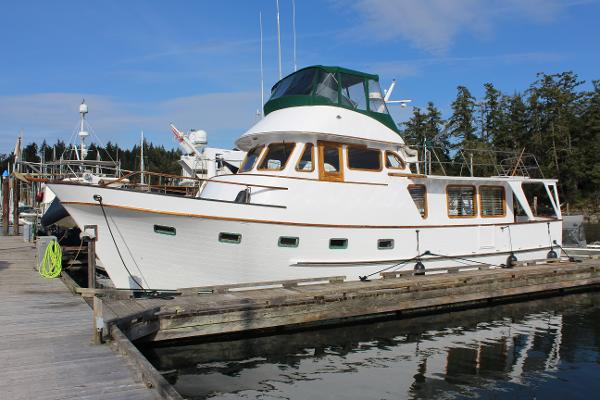 DeFever 49 Pilothouse