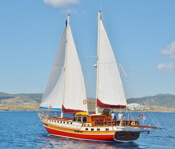 Turkish Bodrum  Iroko Gulet Motor Sailers