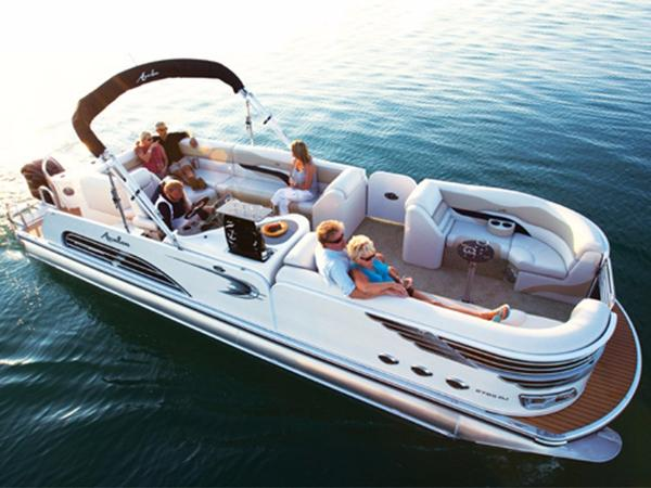 Avalon Ambassador Rear J Lounge - 27'
