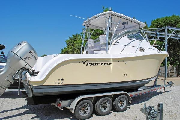 PROLINE 28 Express PROLINE 28 Express- HULL VIEW