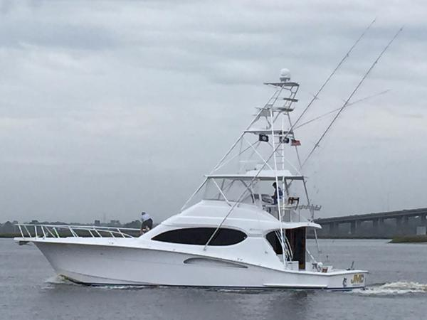Hatteras 54 Convertible w/CAT warranty