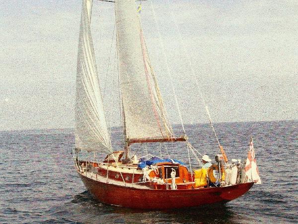 Classic Cheverton Danegeld sloop Classic Cheverton Dangeld Sloop