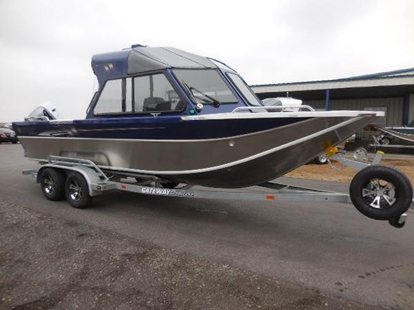 Northwest Boats 228 Lightning OB