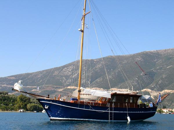 Greek Motorsailer 17m