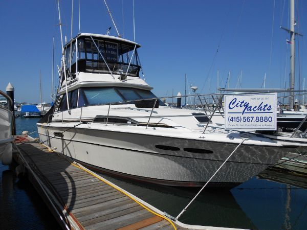 Used power boats flybridge sea ray boats for sale in for Sea ray fish