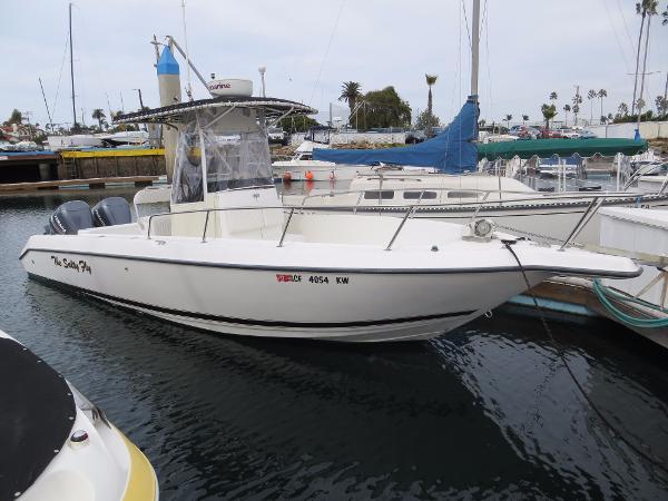 Century 2600 Center Console Actual Boat