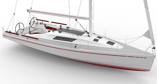 Mestral Marine Works 40 Sport Cruiser Manufacturer Provided Image: Mestral Marine Works 40 Sport Cruiser