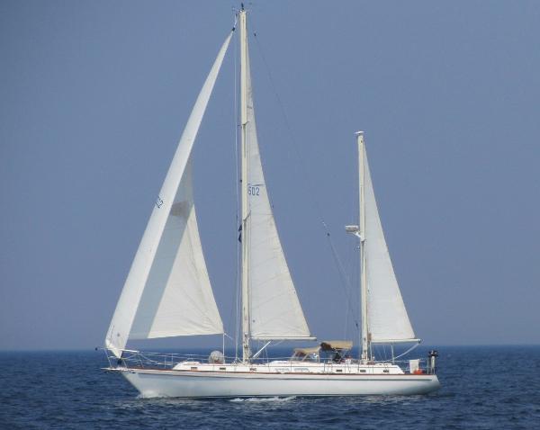 Gulfstar 50' Ketch Full Sail