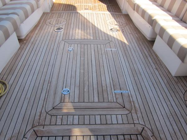 True North 38 Sausalito Teak Decks