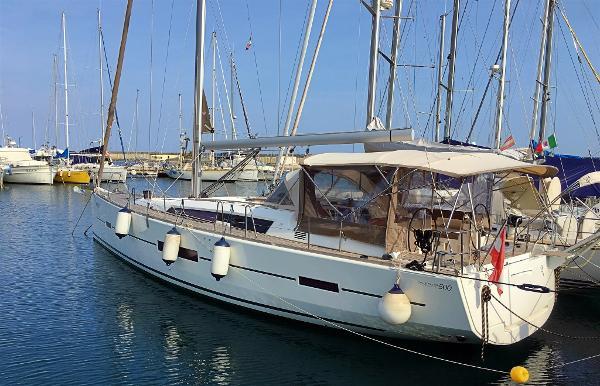 Dufour Yachts 500 Grandlarge murata sinistra