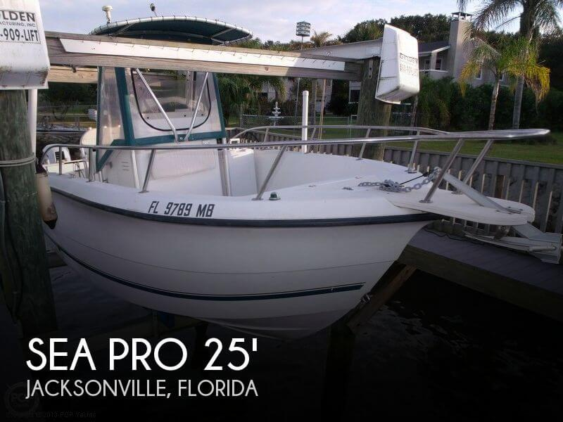 2000 Sea Pro 25 Center Console for sale in Jacksonville, FL