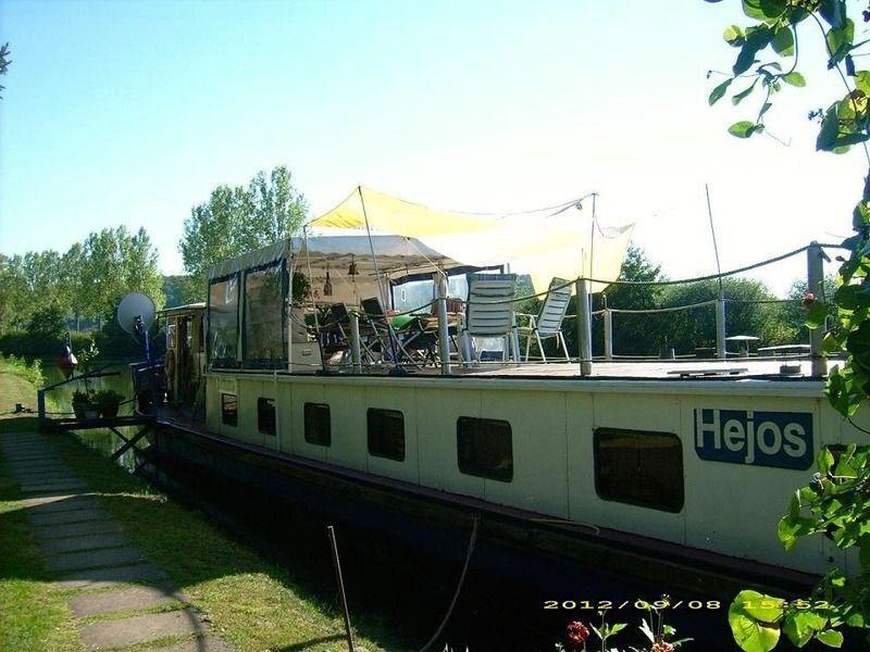 Werftbau Hausboot Vorwaarts Te West