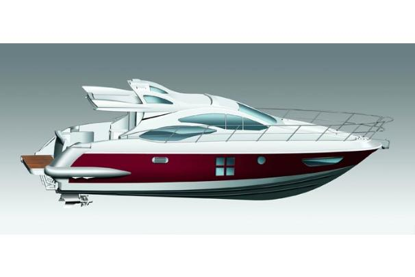 Azimut 43S Manufacturer Provided Image: 43S Profile