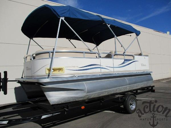 Tahoe Pontoon Vista FRB 16