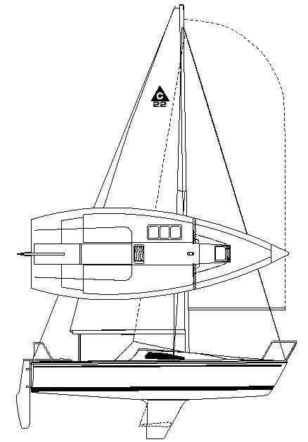 Catalina Capri 22 Manufacturer Provided Image: Capri 22