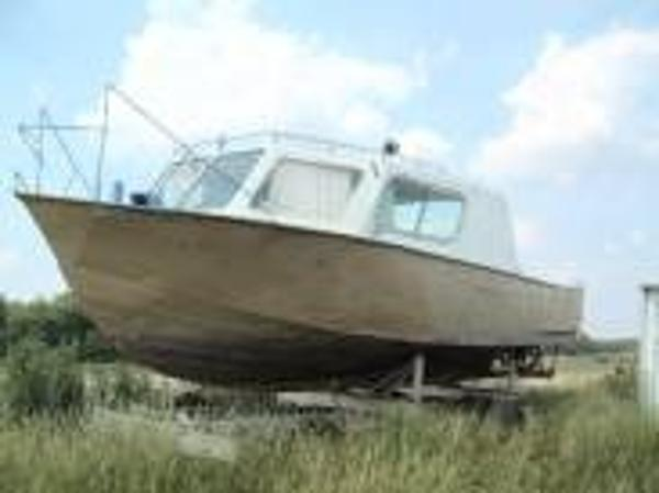 Steel Workboat Hull Only Hull Only