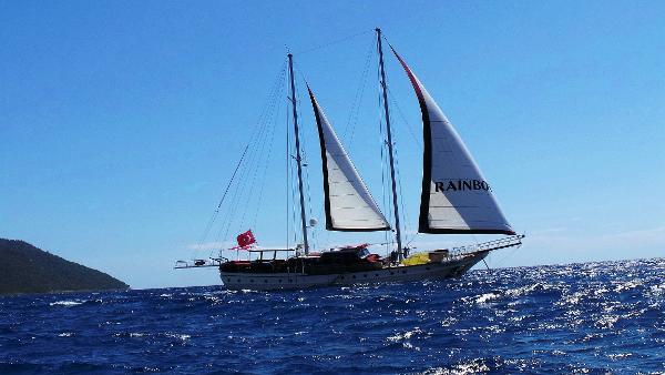 Gulet Turkish Under sail