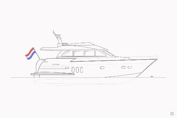 Van der Valk Flybridge 18.5m (Semi-Displ.) Van der Valk Flybridge