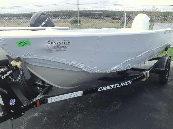 Crestliner 1600 Vision Tiller