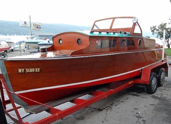 Chris-Craft 22 Cadet Cabin Cruiser 22 Chris-Craft Cadet 1929