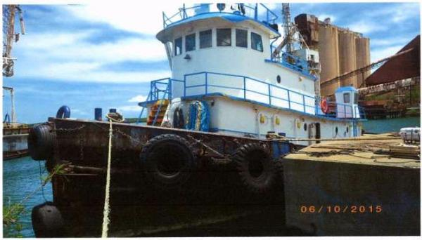 Commercial Tug Hawser Tug