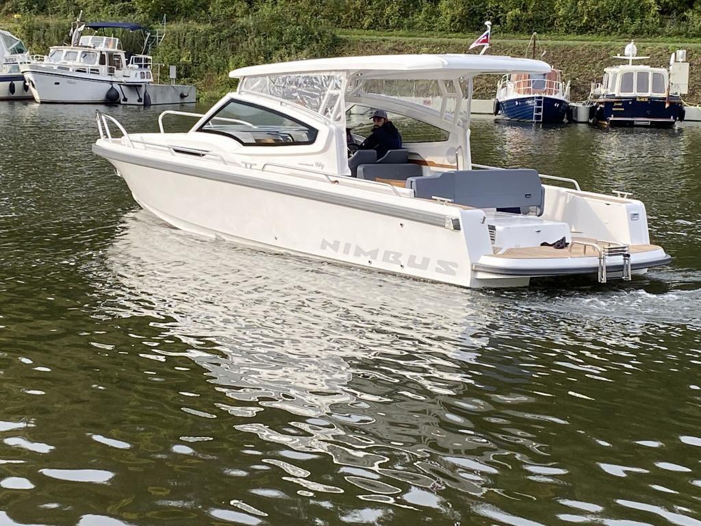 Nimbus W9 TTop Diesel  Ausstellungsboot