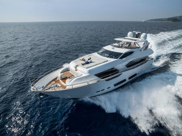 Sunseeker 95 Yacht Manufacturer Provided Image: Sunseeker 95 Yacht