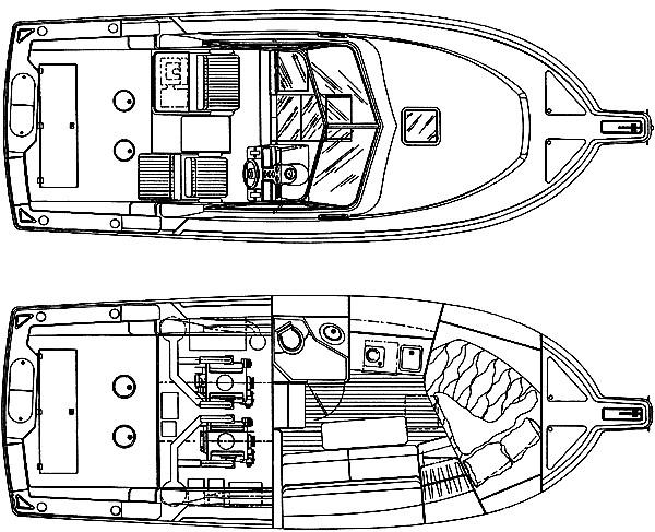Manufacturer Provided Image: 30 - cabin & deck plan