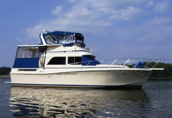 Chris Craft1 426 Catalina Starboard profile