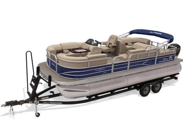 pontoon boats boats compontoon boats for sale sun tracker party barge 22 rf xp3