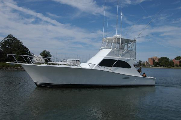 Post Convertible Sportfish Post Marine 47 Convertible Profile