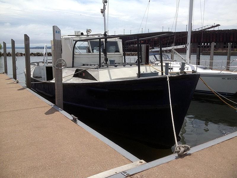 Classic Work boat
